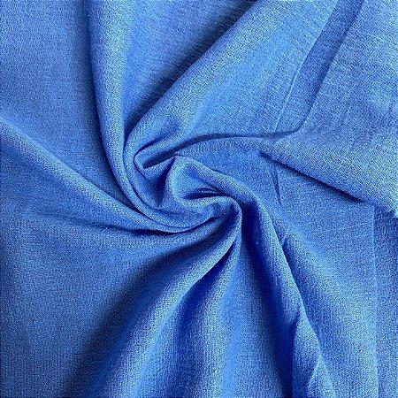 50 Metros - Crepe de Algodão Azul Royal