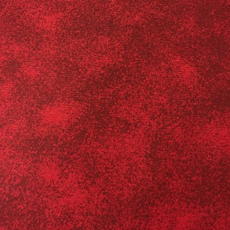 Tricoline Estampada Esponjado Vermelha