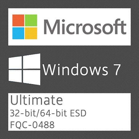Microsoft Windows 7 Ultimate - Licença + NF-e