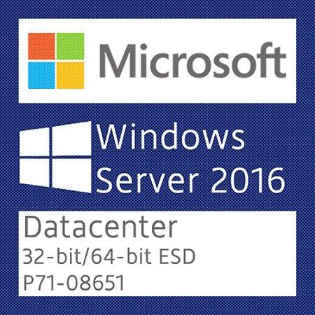 Microsoft Windows Server 2016 Datacenter - Licença + NF-e