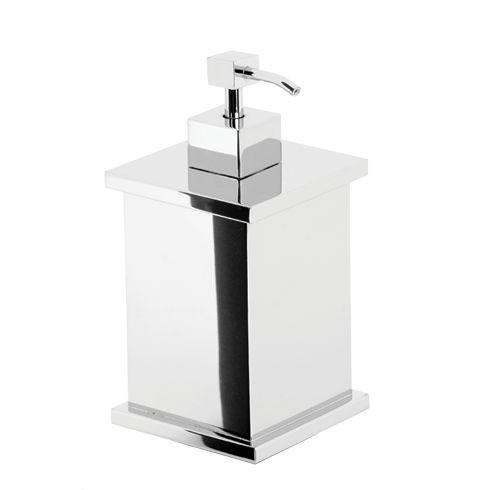 Porta sabonete líquido Quadrado - Rogeart 8203