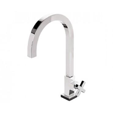 Torneira de mesa bica alta para lavatório Duna Quadratta - Deca