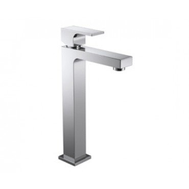 Monocomando para lavatório de mesa bica alta Unic - Deca