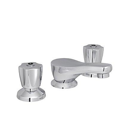 Misturador para lavatório de bancada Prata - Deca