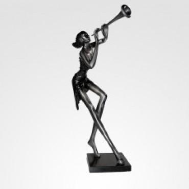 Escultura Corneta Woman