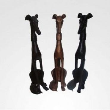 Escultura Cachorro ( cada )
