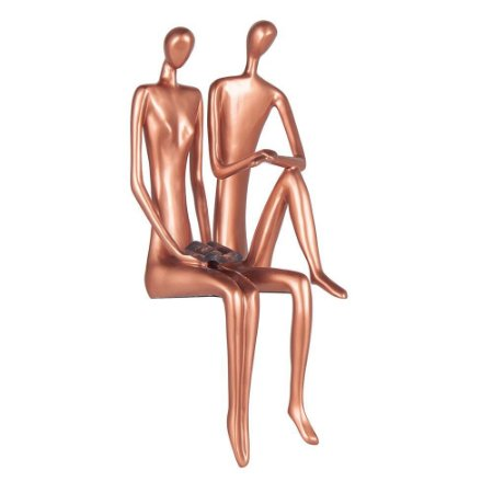 Escultura Casal sabedoria (par)