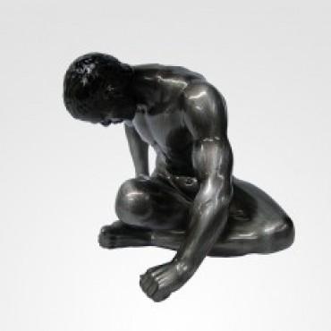 Escultura Man Yoga