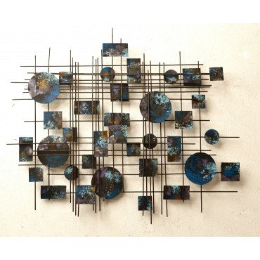 Escultura de parede Terra Ek48 - 9039