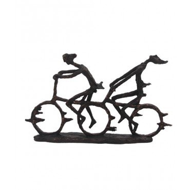 Escultura Bike Dupla