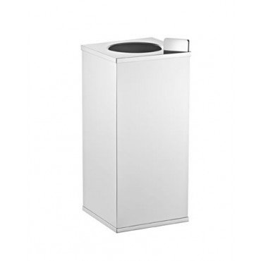 Lixeira Slim quadrada vazada - Rogeart 8287