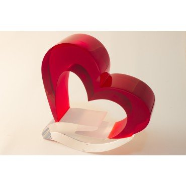 Escultura coração