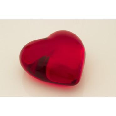 Coração P - peso de papel