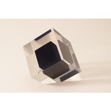 Cubo 3 D chanfrado - pequeno