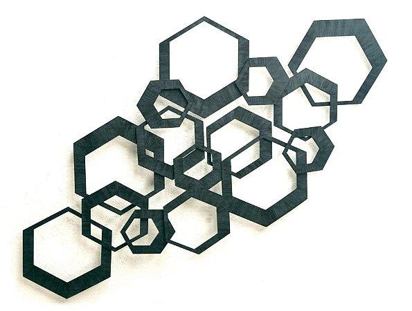 Escultura de parede Diamante EK21 - 7696