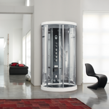 Cabine Multifuncional de Hidromassagem com Sauna - Ares 1 - Novellini