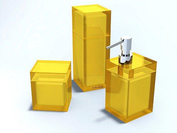 Conjunto Quadrado  de 3 Potes - R. Szpilman - Várias Cores Disponíveis