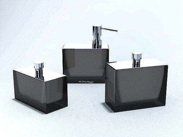 Conjunto Retangular em 3 Potes - R. Szpilman - Várias Cores Disponíveis