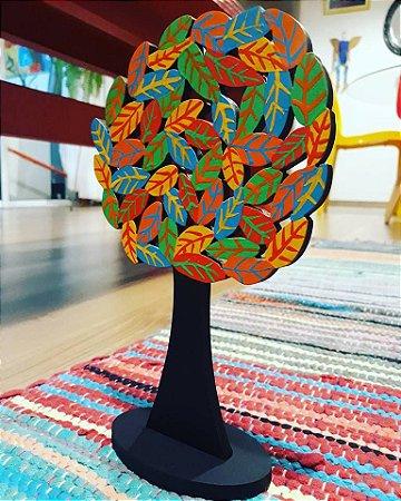 Escultura Árvore Folhas P