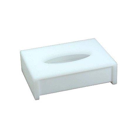 Porta lenço em acrilico branco - Decor Acrílicos