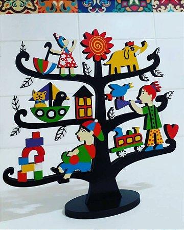 Escultura Árvore Infância P
