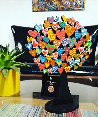 Escultura Árvore Coração M