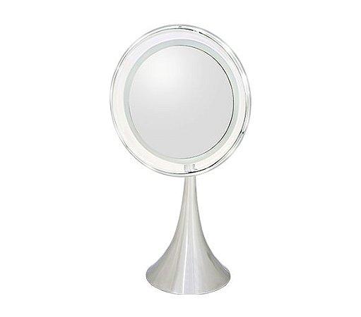 Espelho de Mesa com Iluminação LED, 8X