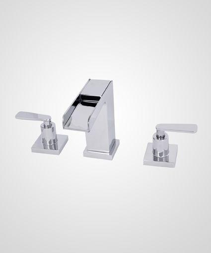 Misturador para lavatório modelo Cascata Ocean - Perflex