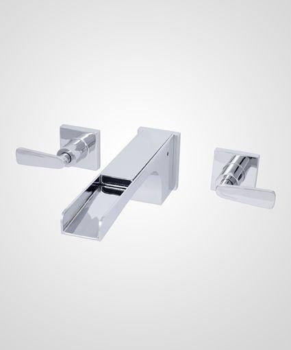 Misturador p/ de parede para lavatório modelo cascata Ocean - Perflex