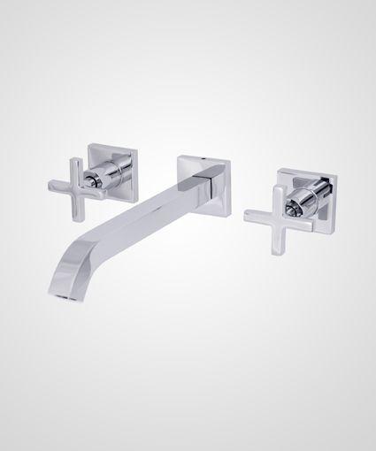 Misturador p/ lavatório de parede New Quadra - Perflex