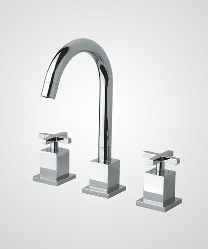 Misturador de bancada p/ lavatório Quadra - Perflex