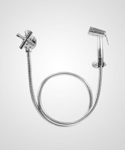 Ducha higiênica com derivação Titânio - Perflex