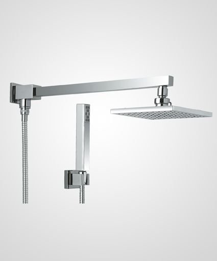 Chuveiro Quadra 20cm com ducha manual - Perflex
