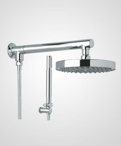 Chuveiro Titânio 20cm com ducha manual - Perflex
