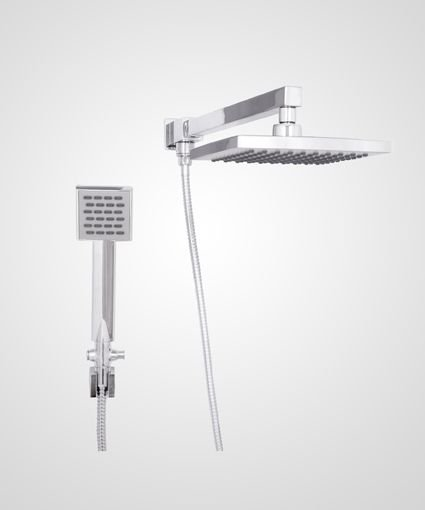 Chuveiro Trend 20cm com desviador e ducha manual - Perflex