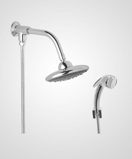 Chuveiro Disco 16cm com desviador e ducha manual - Perflex