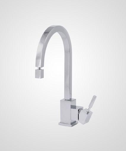 Misturador monocomando p/ cozinha New Quadra - Perflex