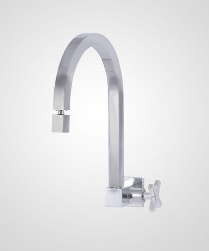 Torneira de parede p/ cozinha New Quadra - Perflex