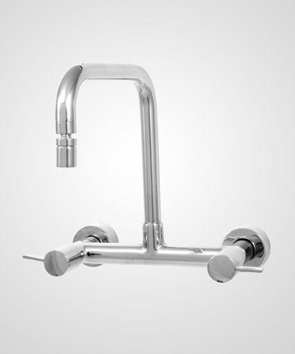 Misturador de parede p/ cozinha Prisma - Perflex