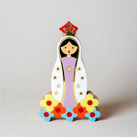 Nossa Senhora de Fátima Mini - Patricia Maranhão