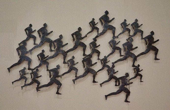 Escultura de parede Ek63 - 8482