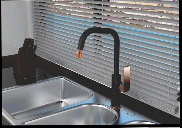 Misturador moncomando para cozinha - Lexxa