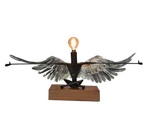 Escultura Abajour Anjo