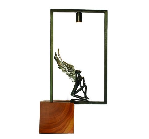 Escultura Anjo no Quadro 2