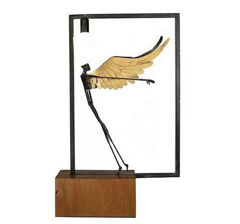 Escultura Anjo no Quadro 3