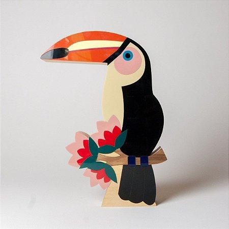 Pássaro Tucano Tropical - Patricia Maranhão