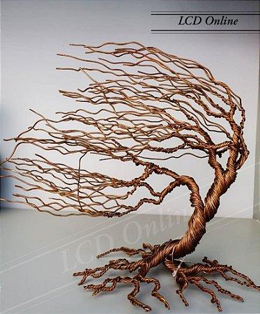 Escultura árvore ventania