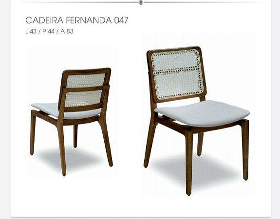 Cadeira Fernanda sem braço 047 - Luccasi Mobili