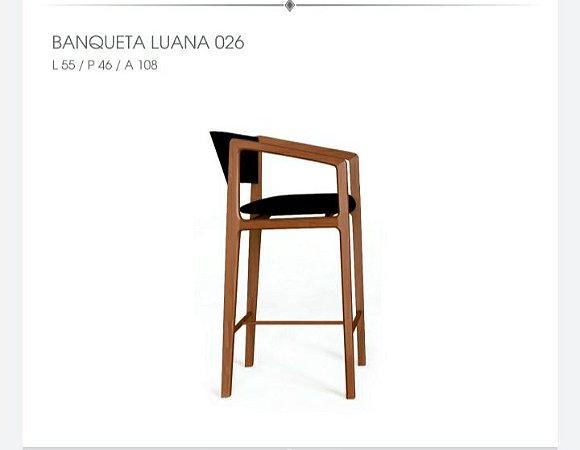 Banqueta Luana 026 - Luccasi Mobili