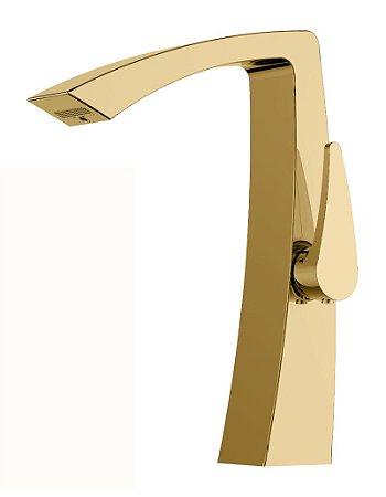 Misturador monocomando Gold para lavatório LX7702G - Lexxa